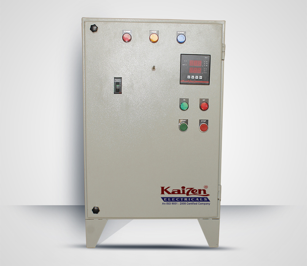 Auto Transformer Switch Starter Motor Control Panel in